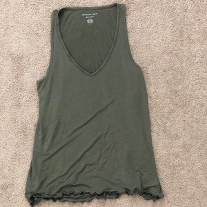 American Eagle V-Neck Tank Top